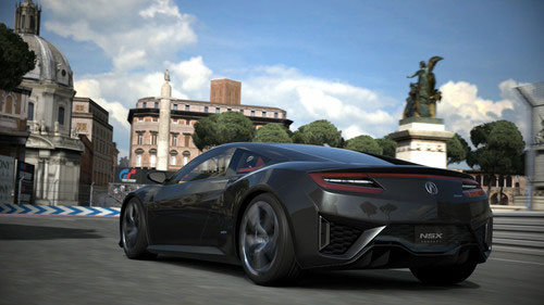 Acura NSX Supercar Concept to Make its Appearance in Virtual World Of Gran Turismo 6 Game