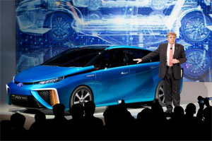 The Toyota Car of the Future Opens 2014 Consumer Electronics Show