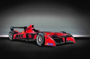 ABT FIA Formula electric race car